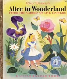 Alice in Wonderland - Disney - Book cover