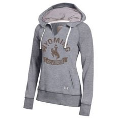 University of Wyoming Cowboys Under Armour Women's Legacy Fleece Pullover #GoWyo