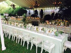Inside Elizabeth Cordry and Charlie Shaffer's Mastic Beach wedding.