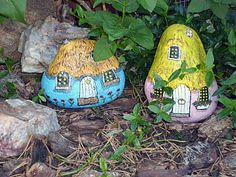 Painting Rock & Stone Animals, Nativity Sets & More: High Plains Critters