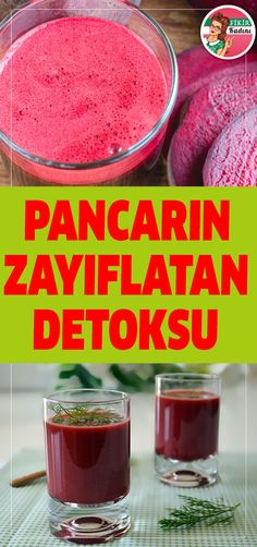#detoks #pancar #diyet Breakfast Recipes, Dinner Recipes, Detox Recipes, Tutorial, Beets, Smoothie, Cleanser, Pudding, Healthy