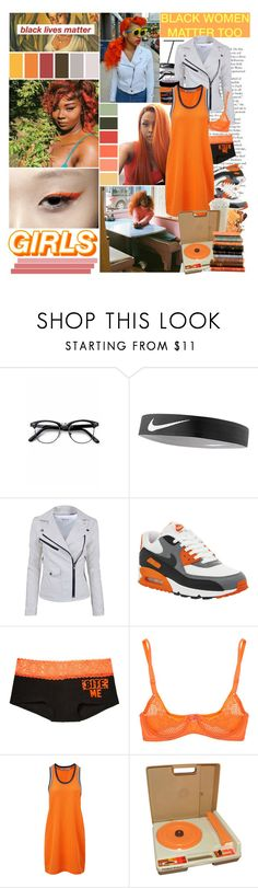 """you know that i ain't the sober type.."" by tytanic ❤ liked on Polyvore featuring Libertine, Retrò, NIKE, Victoria's Secret PINK, Timpa, Manic Panic NYC, T By Alexander Wang, Fisher Price and polyvorepoc"