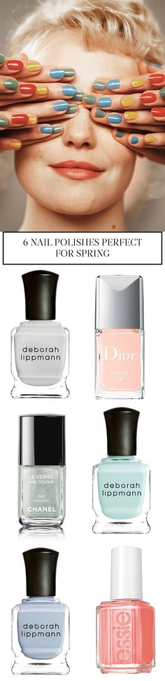 the best nail polishes for spring - vicki archer http://vickiarcher.com/2015/06/the-best-of-the-spring-nail-polish/