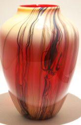 Art glass vases - glass art from Kela's Gallery
