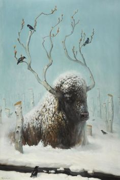 Martin Wittfooth- beautiful Painting & Drawing, Fantasy Art, Collages, Martin Wittfooth, Blend Images, Art Photography, Photography Magazine, Editorial Photography, Oil Painters