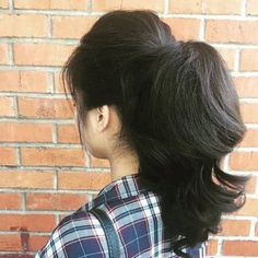 1950s Ponytail, Ponytail Updo, Ponytail Styles, Ponytail Hairstyles, Hair Styles, Updos, 1950s Hairstyles, Vintage Hairstyles, Bubble Ponytail