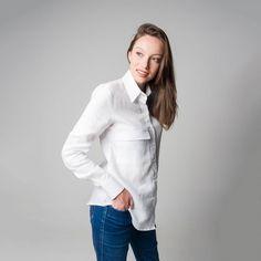 Chef Jackets, Coat, Fashion, Cotton Shirts, Linen Shirts, Green Cotton, Black White, Moda, Fasion