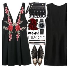 Mini dress by pastelneon on Polyvore featuring polyvore fashion style Gucci vintage clothing