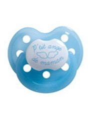 Bébisol Physiological Rubber Dummy 0-6M Limited Edition - Model: P'tit Ange Boy (P2)  #Bébisol #BabyProduct