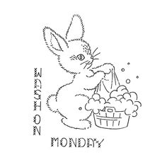 Vintage Hand Embroidery PATTERN PDF file Instant by BlondiesSpot