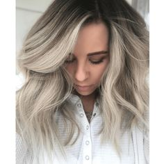 71 most popular ideas for blonde ombre hair color - Hairstyles Trends Blonde Ombre Hair, Brown Ombre Hair, Ombre Hair Color, Blonde Color, Blonde Balayage, Bright Blonde, Ash Blonde, Jamie Park, Shadow Root Blonde