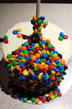 Created Creatively: My husband: The birthday boy! My Husband Birthday, Boy Birthday, Birthday Parties, Easy Kids Birthday Cakes, Sprinkles, Candy, Create, Boys, Lightning