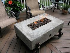 s 15 fabulous fire pits for your backyard, Rustic with wheels