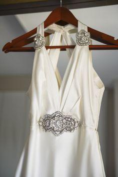 Vintage Wedding Dress - Molly and Nick's Regatta Place Wedding | The Newport Bride