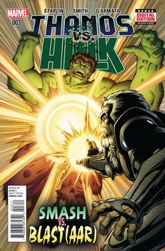 Preview: Thanos Vs. Hulk #3,   Thanos Vs. Hulk #3 Story: Jim Starlin Art: Jim Starlin, Andy Smith, Frank D'Armata & Travis Lanham Cover A: Jim Starlin, Andy Smith & F...,  #All-Comic #All-ComicPreviews #AndySmith #Comics #FrankD'Armata #JimStarlin #Marvel #Previews #RonLim #THANOSvsHULK #TravisLanham