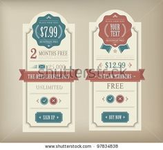 Find Price Table Vintage Web Print Element stock images in HD and millions of other royalty-free stock photos, illustrations and vectors in the Shutterstock collection. Pricing Table, Color Inspiration, Vector Free, Objects, Royalty Free Stock Photos, Graphic Design, Banner Ideas, Crafts, Retro Style