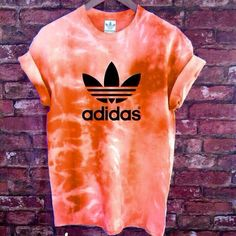 Unisex Authentic Adidas Originals Tie Dye purple T-shirt Outfits For Teens, Cool Outfits, Summer Outfits, Skirt Outfits, Tie Dye Shirts, Dye T Shirt, Adidas Outfit, Adidas Shirt, Design T Shirt