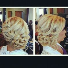 I wanna do this for my hair! #Wedding #Updo #Braid