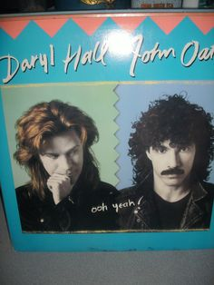 Daryl Hall And John Oates 1988 Ooh Yeah Vinyl Record by AJRECORDS, $7.99