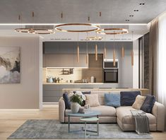 First Class Family Home With Blue, Pink And Gold Decor Living Room Modern, Home Living Room, Living Room Designs, Living Room Decor, Living Area, Modern Apartment Decor, Apartment Interior, Living Room Interior, Kitchen Room Design