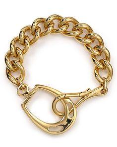 More affordable than a similar looking gucci bracelet! (Ralph Lauren)