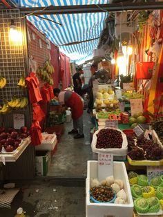 Wan Chai Market fruit shop - Hong Kong Sites: Wan Chai Market | A Life Shift