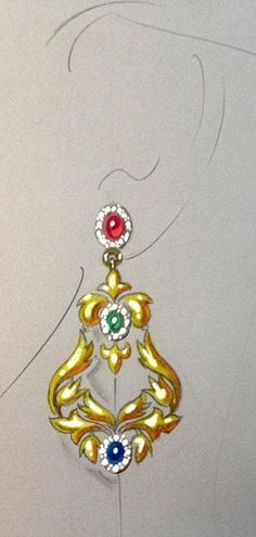 ... How to add sparkle to jewelry renderings.