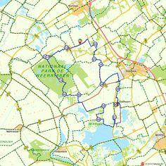 Fietsroute: Giethoorn en NP De Weerribben  (http://www.route.nl/fietsroutes/157189/Giethoorn-en-NP-De-Weerribben/)