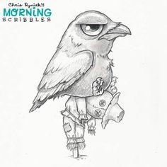 Dokki, the crow kwami Cute Monsters Drawings, Cartoon Monsters, Bird Drawings, Easy Drawings, Animal Drawings, Chibi Kawaii, Graffiti Doodles, Monster Drawing, Fairy Tales For Kids