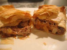 Morsels and Musings: recipe road test: filo baked mars bar Yummy Treats, Sweet Treats, Mars Bar, Snack Mixes, Sydney Food, Food Diary, No Bake Desserts, Blondies, Burns