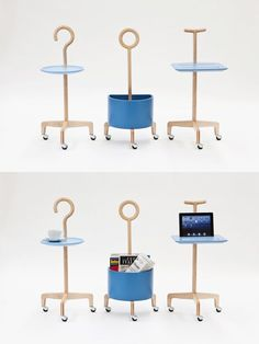 Latest creation of Lanzavecchia+Wai is an interesting series of three objects and furniture designed with care for elderly people