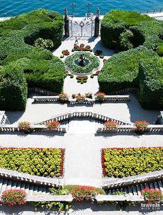 Gardens at Villa Carlotta - Lake Como, Italy