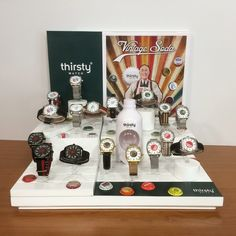 The final presentation of the Vintage Soda Collection @thirstywatch