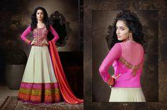 Shraddha Kapoor Unsticth Salawar Kameez V-3 (Pure Georgette with Heavy Embroidery) single pcs retail - Sagar Kothari - Picasa Web Albums