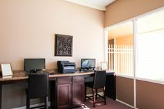 Need Wi-fi? has you covered! Check out the community clubhouse for details! Tampa Apartments, Wi Fi, Office Desk, Corner Desk, Community, Wood, Check, Furniture, Home Decor
