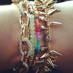 Beautiful bracelets by Stella & Dot.