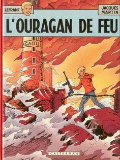 Lefranc -2- L'ouragan de feu  -  1961