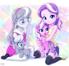 Mlp, Diamond Tiara, Wonderful Picture, Silver Spoons, My Little Pony Friendship, Equestria Girls, Ear Piercings, Pikachu, Creatures