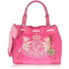 Juicy Couture New Scottie Embroidery Daydreamer Bag <3