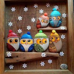 See more ideas about Rock crafts, Easy Rock painting and Painted rocks.These are pretzels but this simple design could easily be painted on rocks. Pebble Painting, Stone Painting, Diy Painting, Stone Crafts, Rock Crafts, Arts And Crafts, Diy Crafts, Rock Painting Designs, Paint Designs