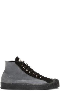 9fbfa50ca81d Comme des Garçons Shirt - Grey Spalwart Edition Sneakers Mens Designer Shoes