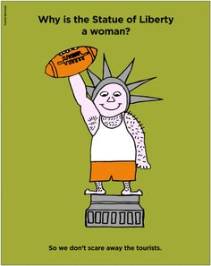 #StatueOfLiberty #NewYork #Sarcasm #irony #lol #TheUnzippedTruth #MartaIbarrondo #unzippedtruth