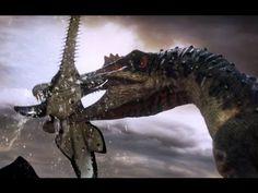 Spinosaurus vs Carcharodontosaurus - The balance of power - Planet Dinosaur - BBC - YouTube