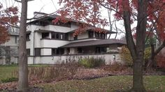 Frank Lloyd Wright In Oak Park, The William E. Martin House