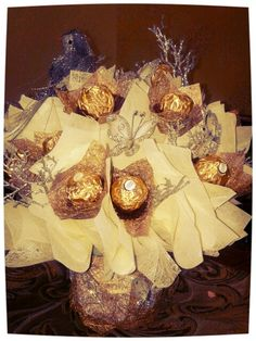 Chocolate Bouquet for Engagement Gift Engagement Basket, Engagement Gifts, Chocolate Bouquet, Gift Baskets, Valentines Day, Best Gifts, Ferrero Rocher, Homemade, Bouquets