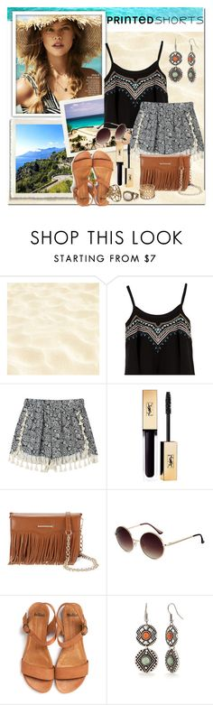 """""""Printed Shorts"""" by olga05 ❤ liked on Polyvore featuring Rebecca Minkoff, Red Camel and printedshorts"""
