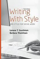 Aims to guide you through the writing process step by step. This book includes sample outlines, title pages, abstract pages and a built-in Appendix.