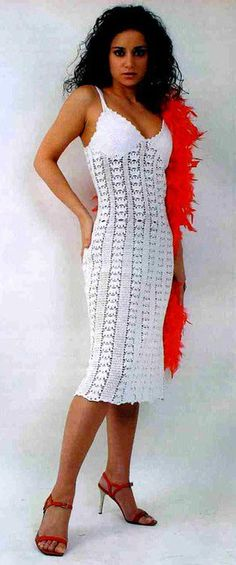 Crafts For Summer Lace Dress For Women Free Crochet Patterns