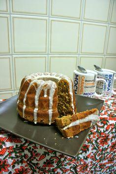 Bundt cake de azúcar moreno con glaseado de mandarina Latte Macchiato, Tiramisu, Caramel, Ethnic Recipes, Desserts, Food, Bonbon, Brown Sugar, Mandarin Oranges