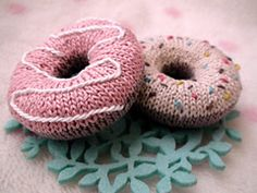 Doughnut knitting pattern
